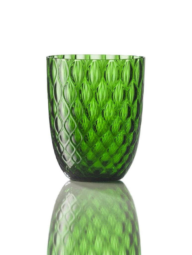 Bicchiere Idra Balloton Verde Pino