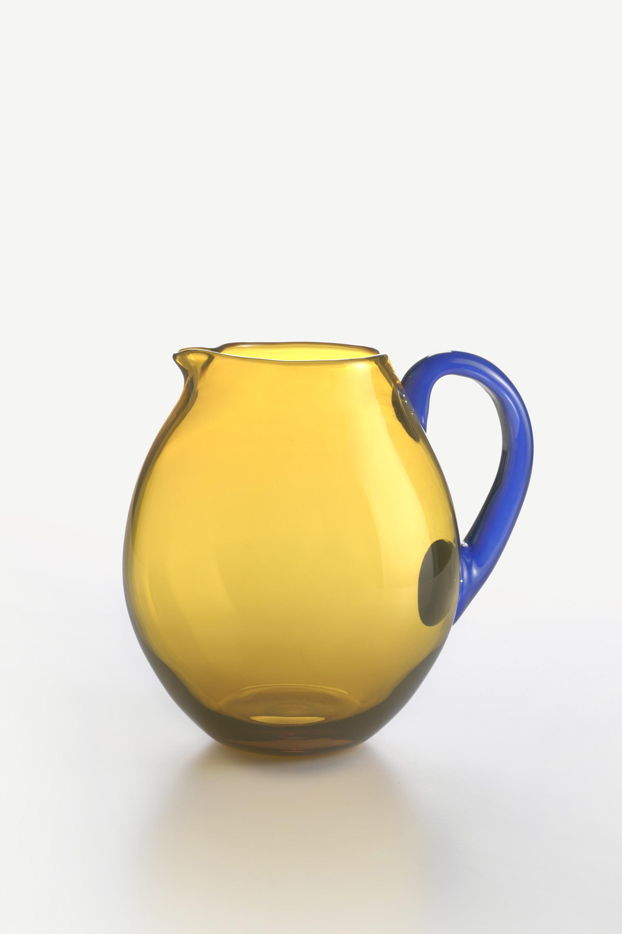 Caraffa Dandy Blu Giallo