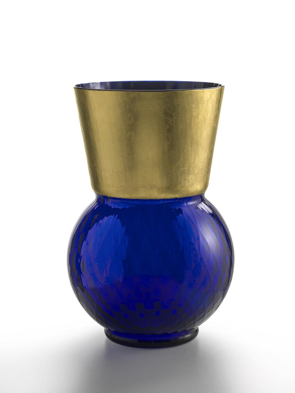 Vaso Grande Basilio Blu