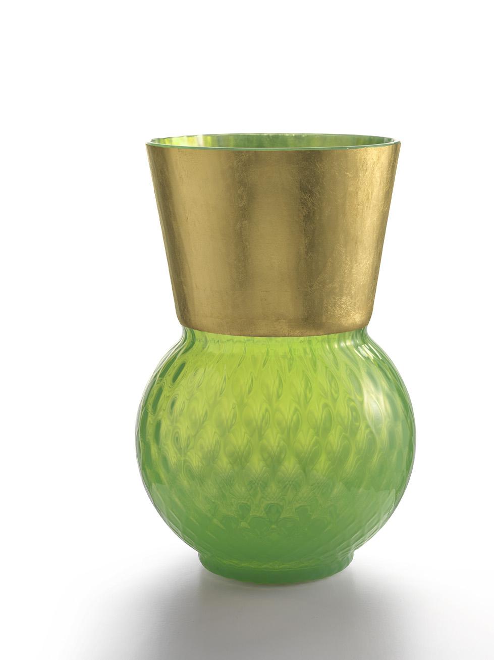 Vaso Grande Basilio Verde Acido
