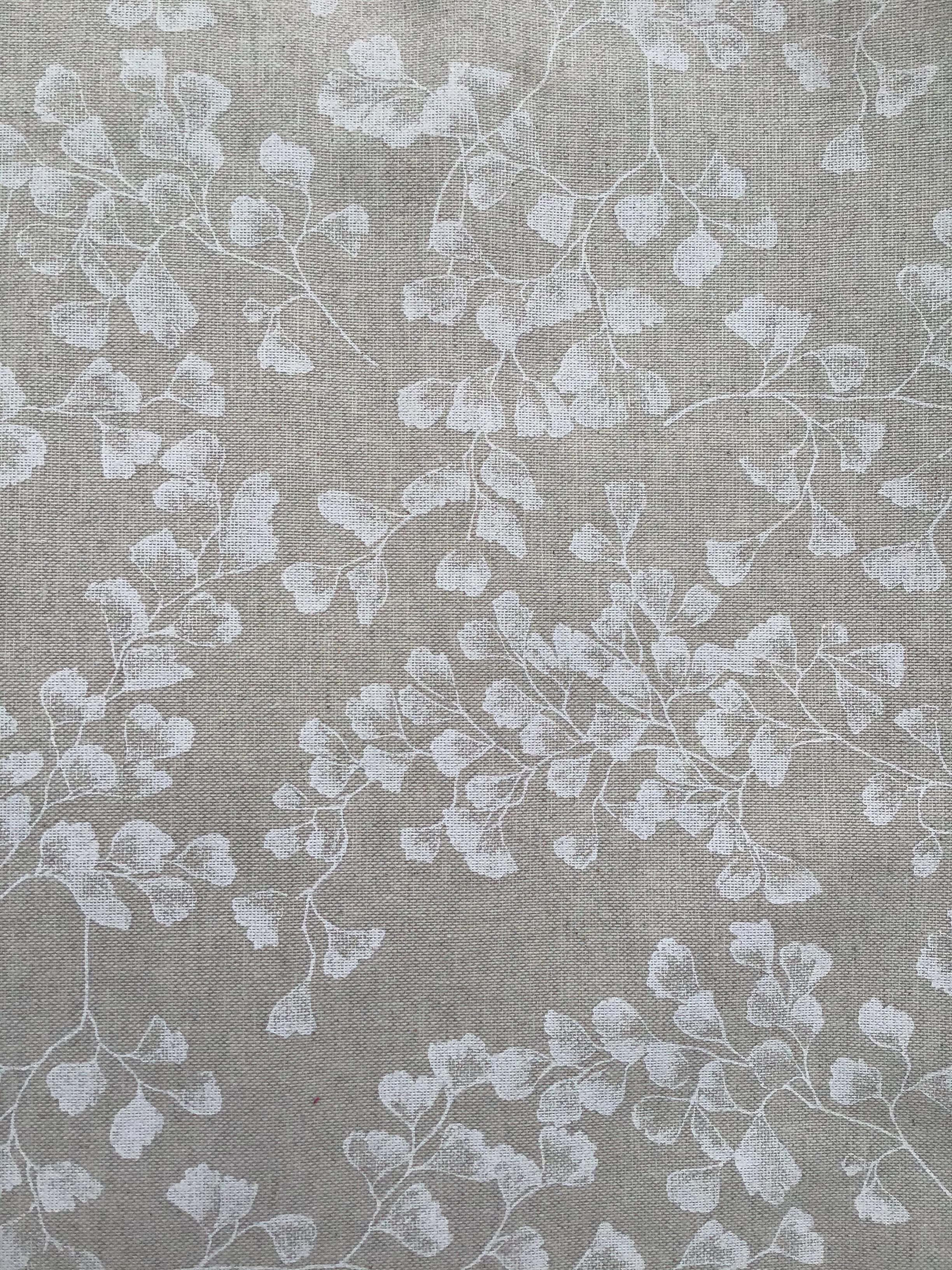 Tessuto Panama stampato Shabby