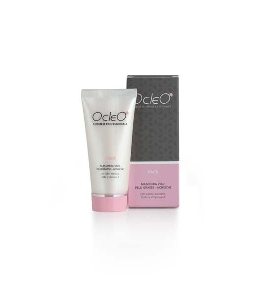 Ocleò - Maschera viso pelli grasse acneiche 50ml