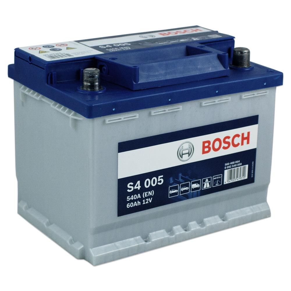 BATTERIA AUTO ORIGINALE BOSCH S4005 60AH 540A 12V DX - 0092S40050