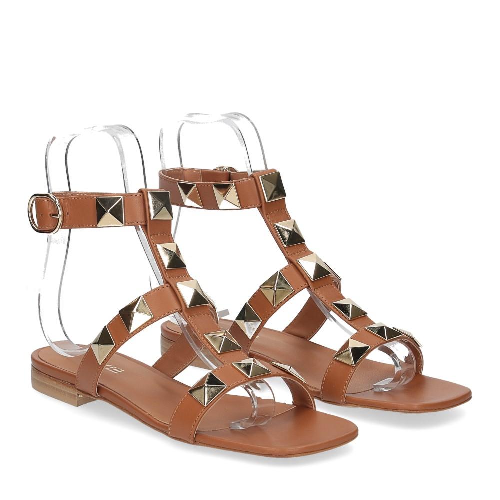 Il Laccio sandalo C108 pelle cuoio