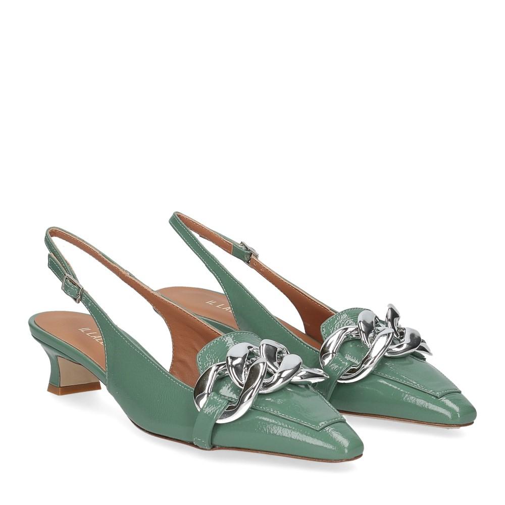 Il Laccio Chanel C406 vernice verde