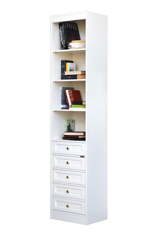 Bücherregal - schmal und funktional