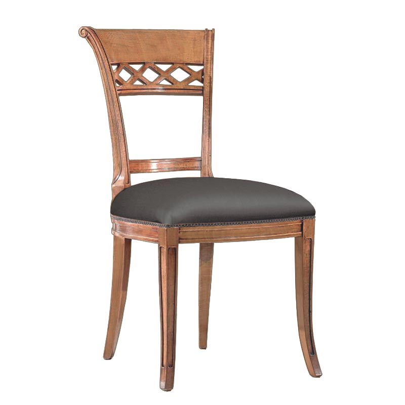 Upholstered chair for dining room