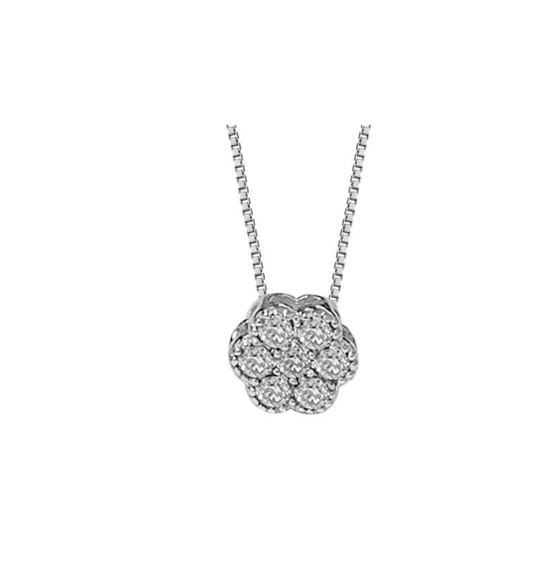 TRAMONTANO - Collana in oro e diamantI