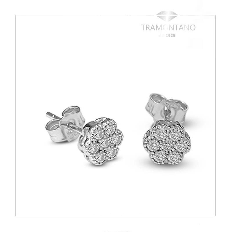 TRAMONTANO - ORECCHINI in oro e diamanti