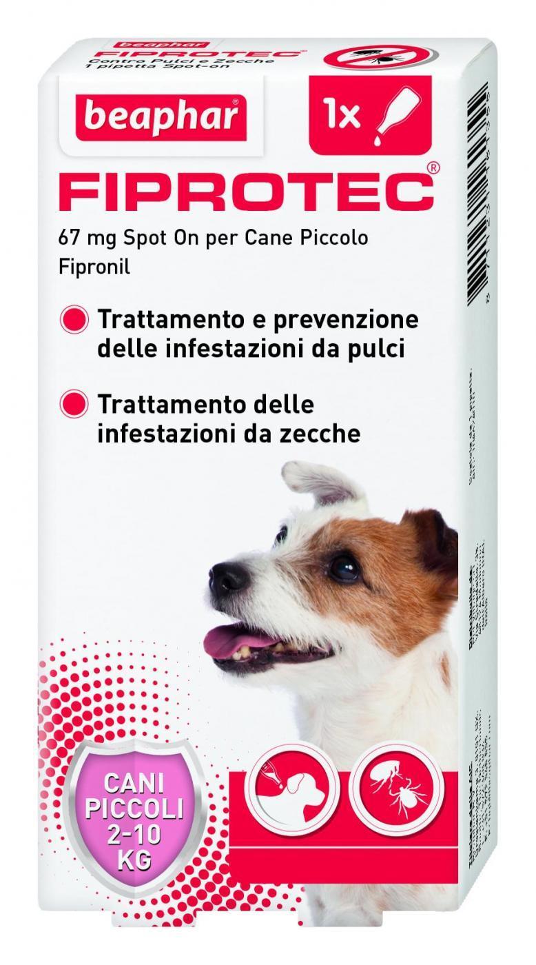 Beaphar Fiprotec  antiparassitario 1 pipetta per cane