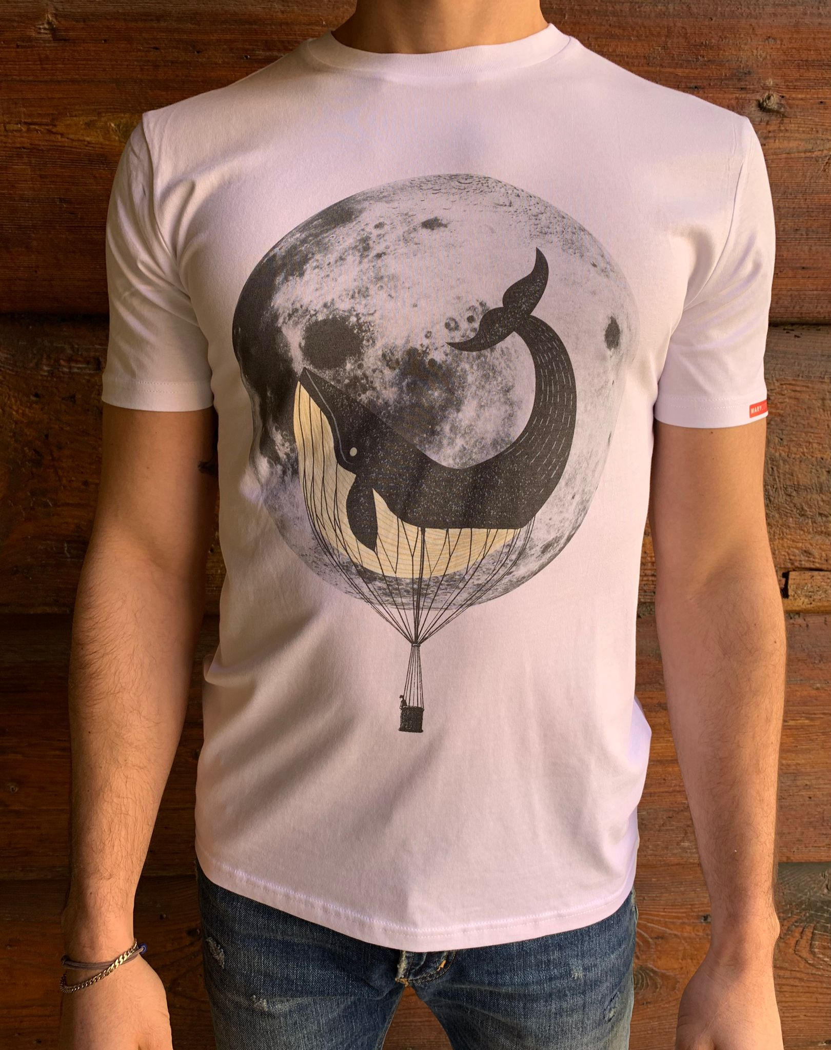 T-SHIRT STAMPA MOON