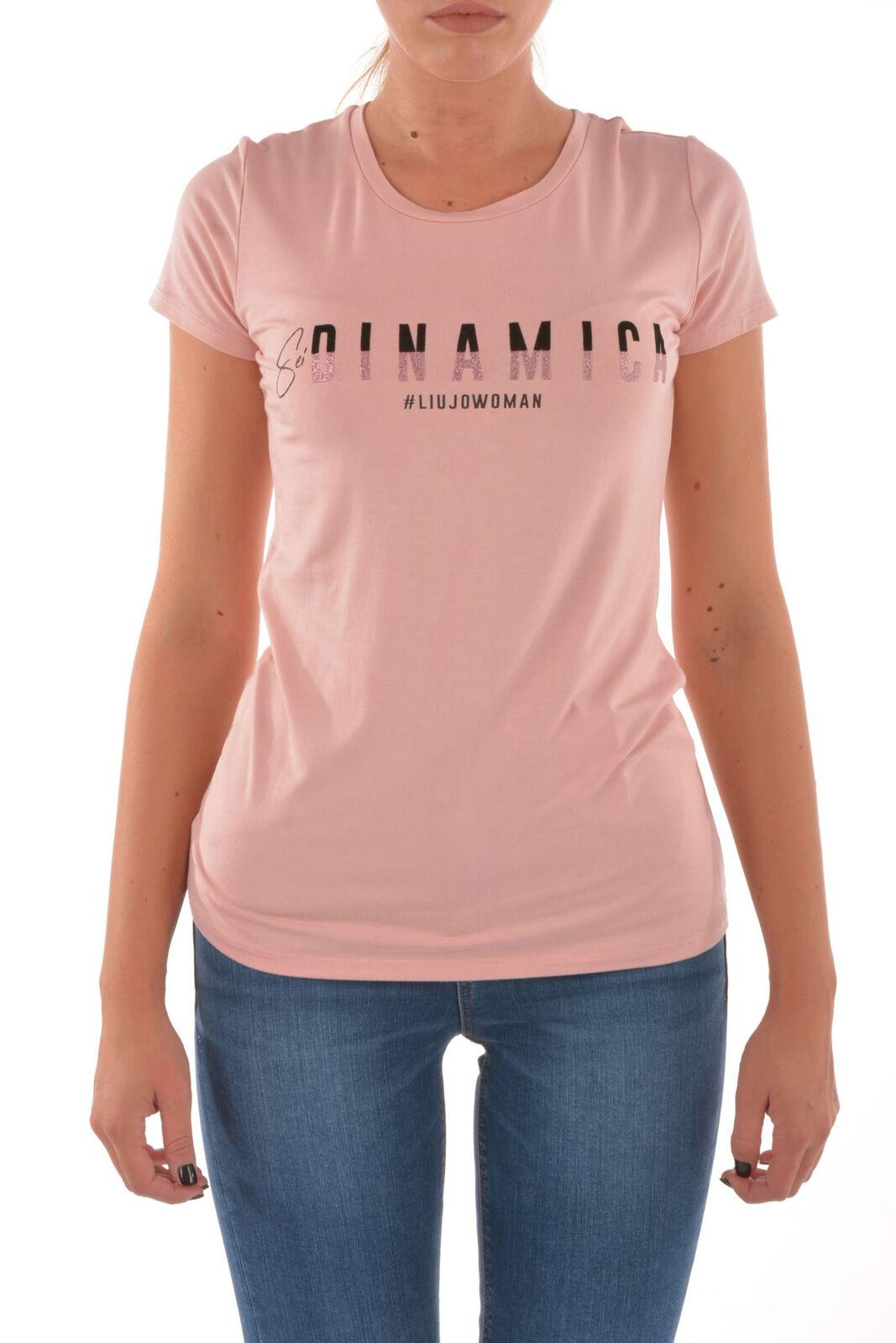 T-shirt pink - LIU JO