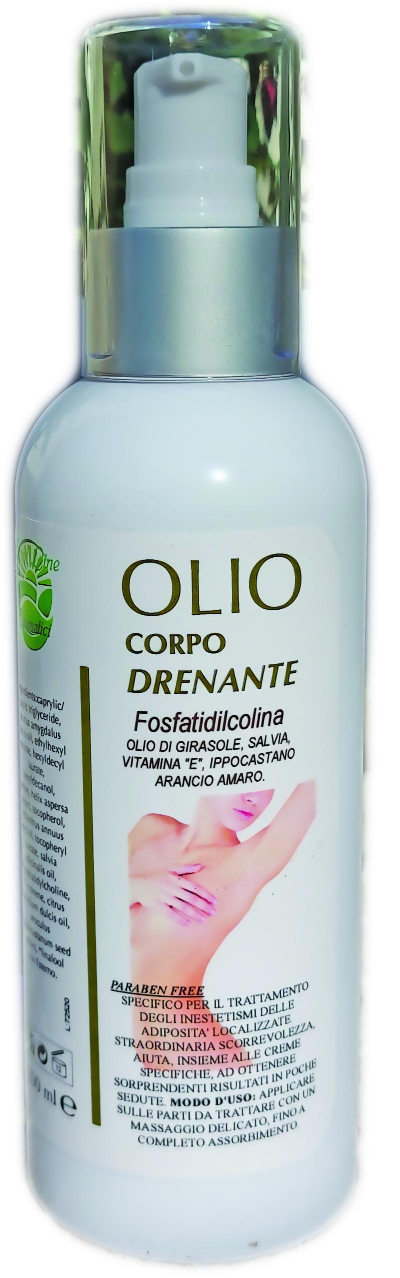 OLIO DRENANTE 200ml con FOSFATIDILCOLINA
