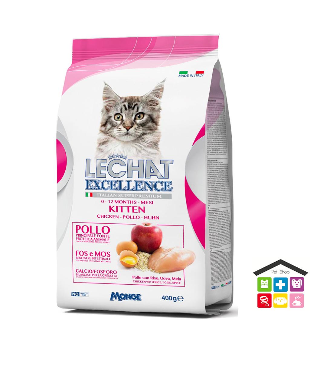 Le Chat excellente Kitten – Pollo 0,400g