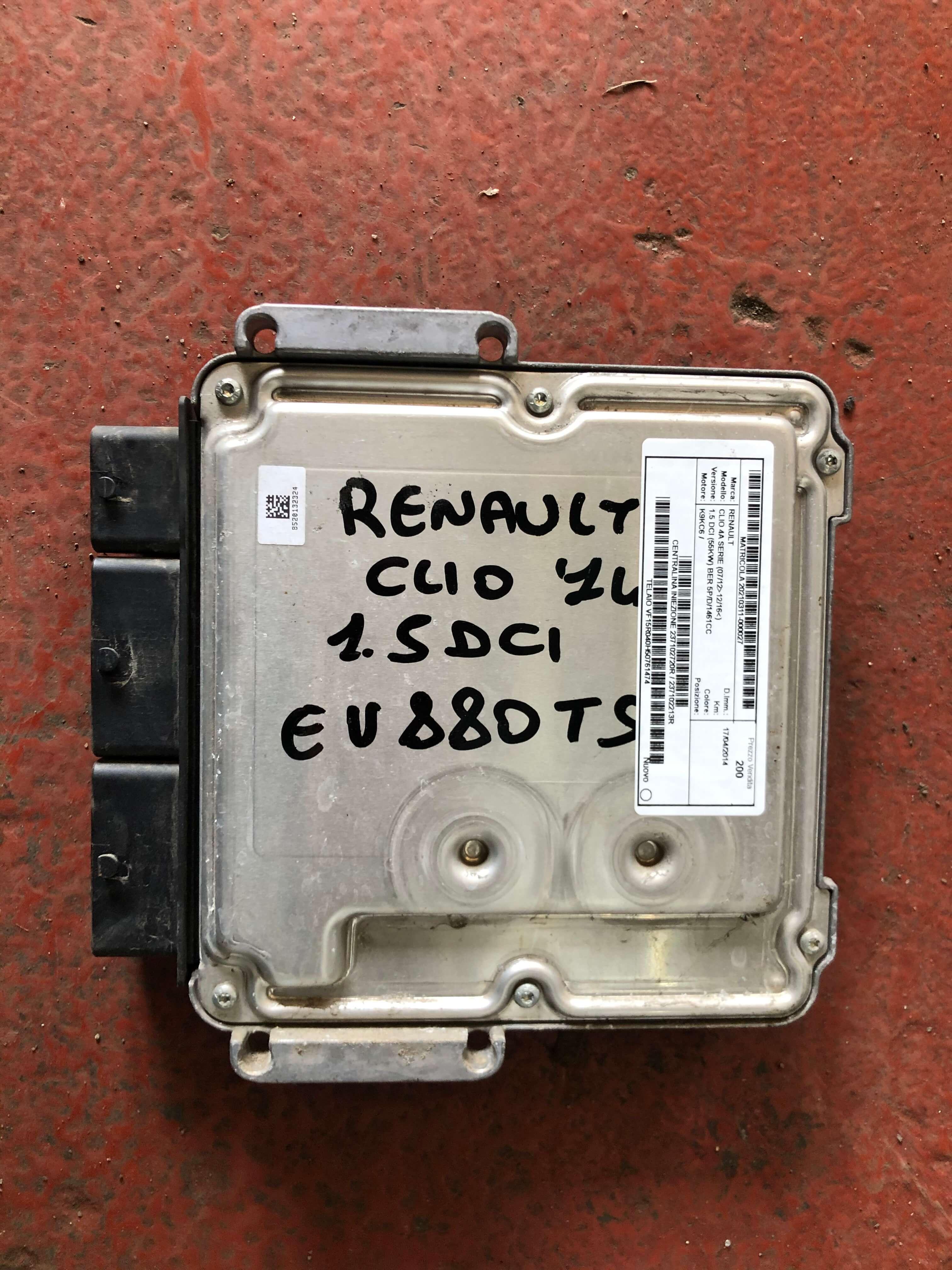 Centralina iniez. usata R. Clio 4à serie cod. 237102213R