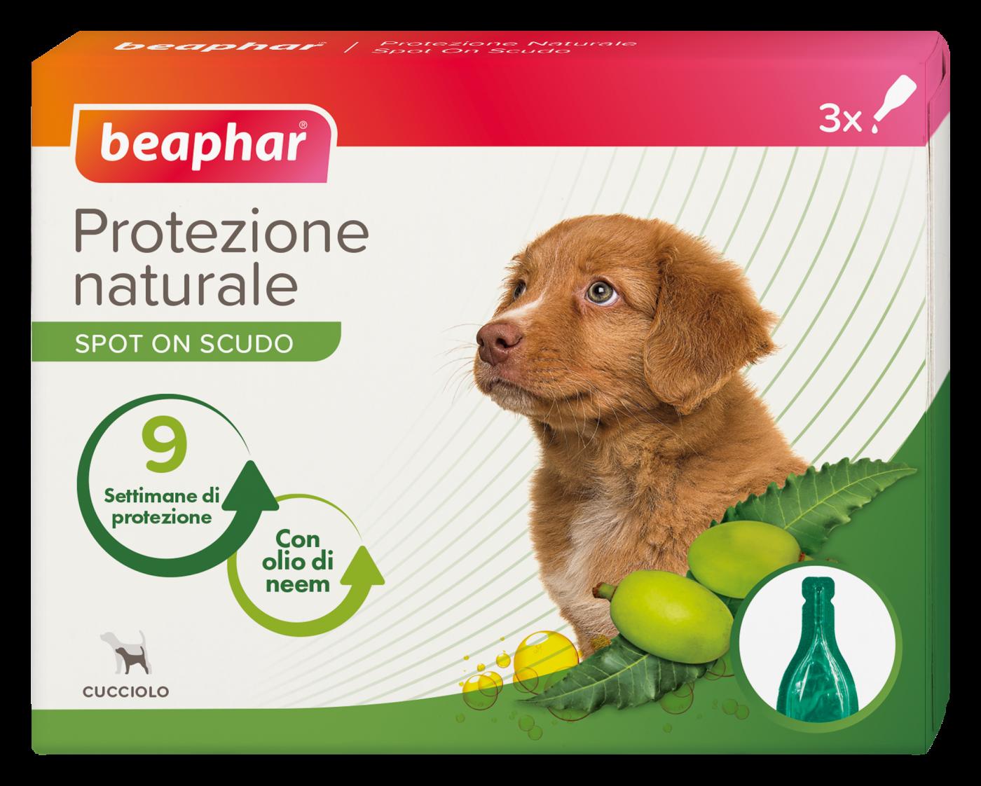 Beaphar Protezione Naturale Spot On Cucciolo 3 Fialette