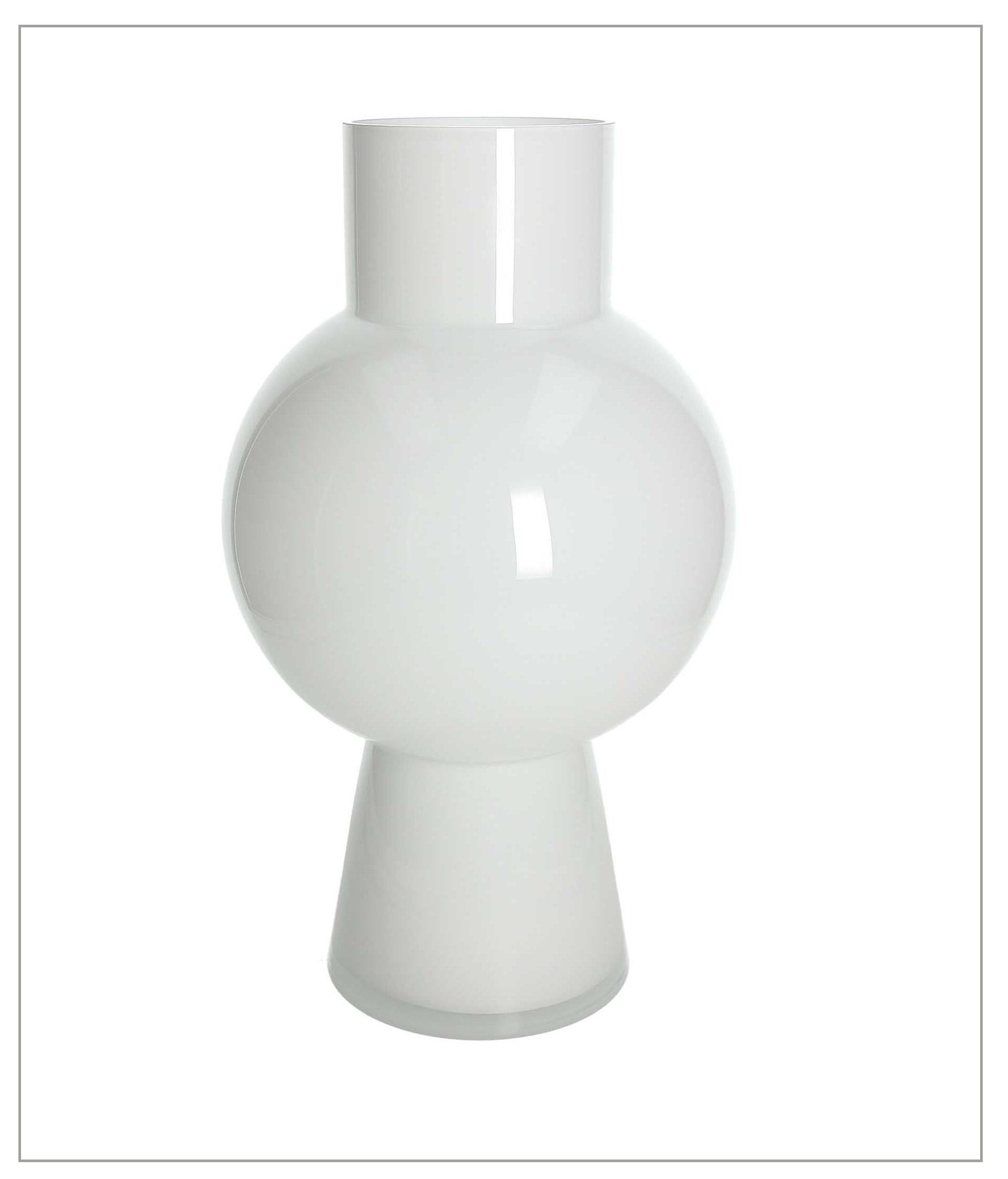 TOGNANA - Vaso Bianco Cm 35h, Kali