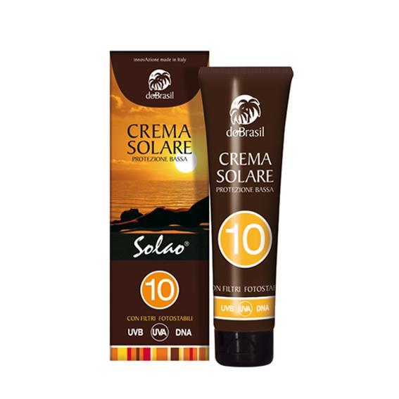DoBrasil, Solao Crema solare protettiva spf 10 150 ml