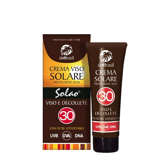 DoBrasil, Solao Crema solare protettiva anti age viso e decolté spf 30
