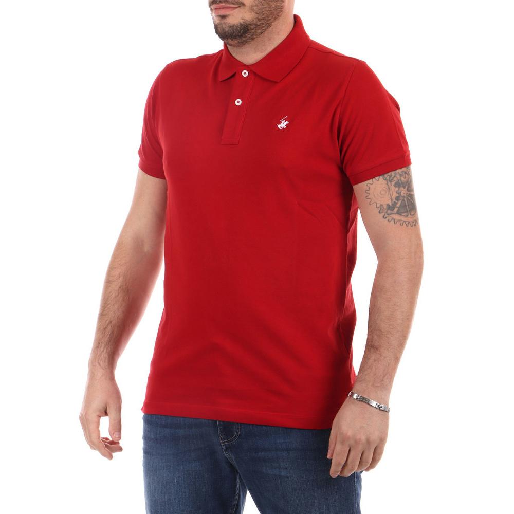 Polo Beverly Hills Rossa da Uomo