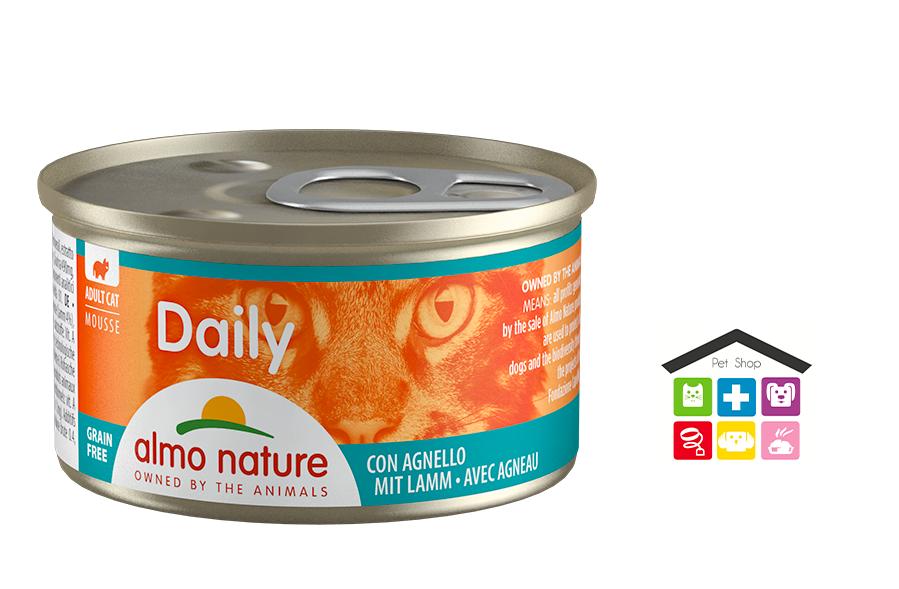 Almo Nature Daily Mousse con Agnello 0,85gr