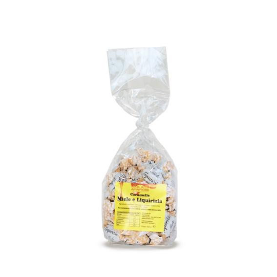Apinfiore, Caramelle Miele e Liquirizia 150 gr