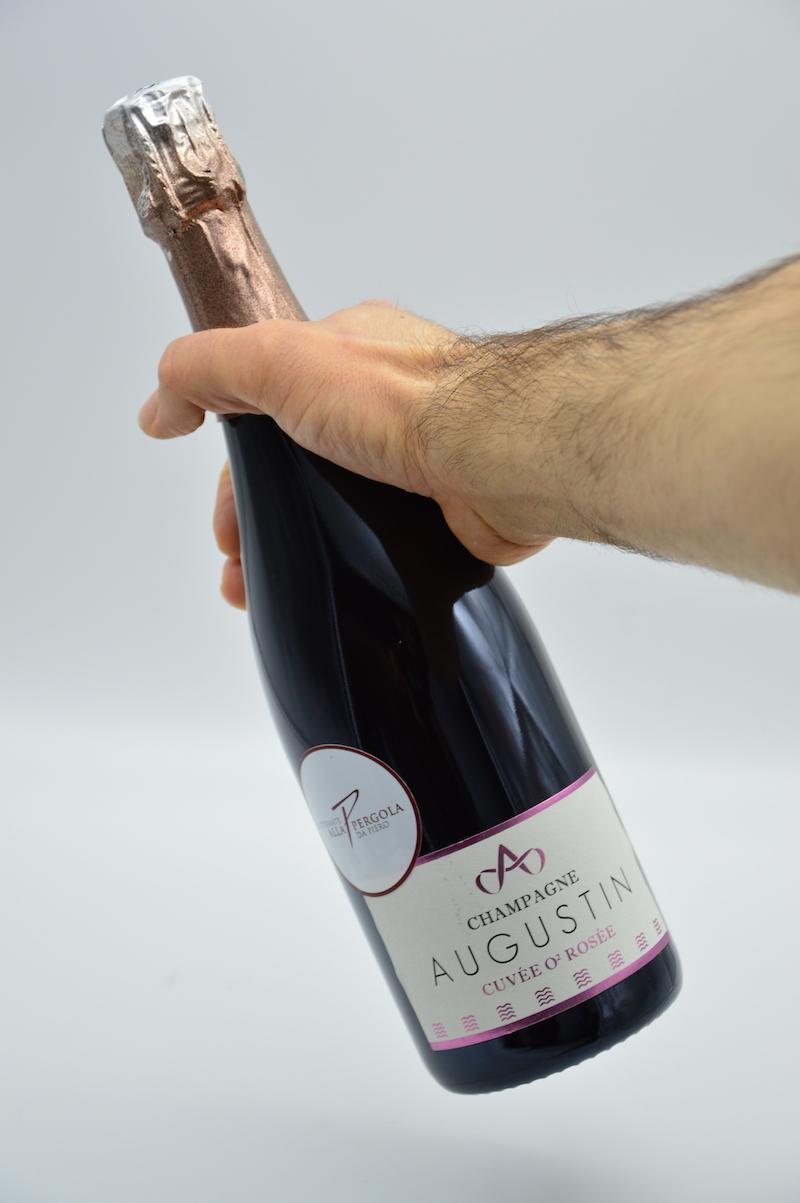 Champagne brut premier cru O2 Rosèe 116 - Augustin
