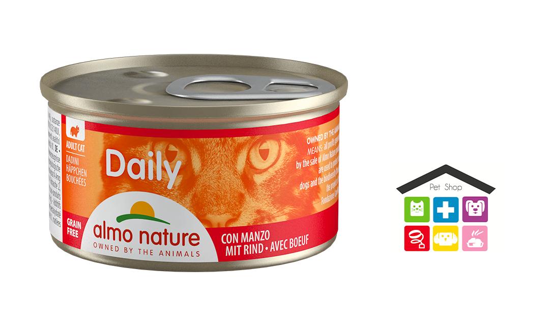 Almo Natura Daily Dadini con Manzo 0,85 gr