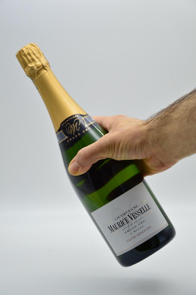 Champagne brut grand cru - Mourice Vesselle