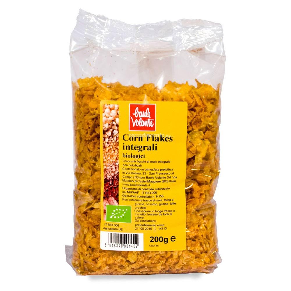 Corn flakes integrali Baule volante