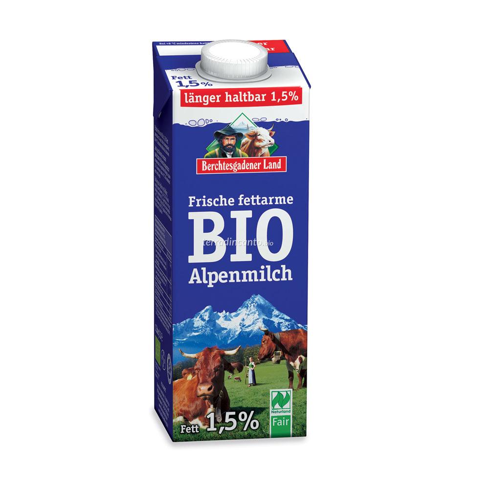 Latte parzialmente scremato più a lungo Berchtesgadener land