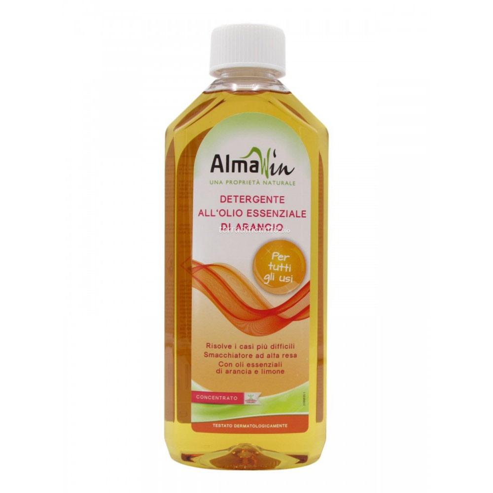 Detergente all'olio essenziale di arancio Almawin
