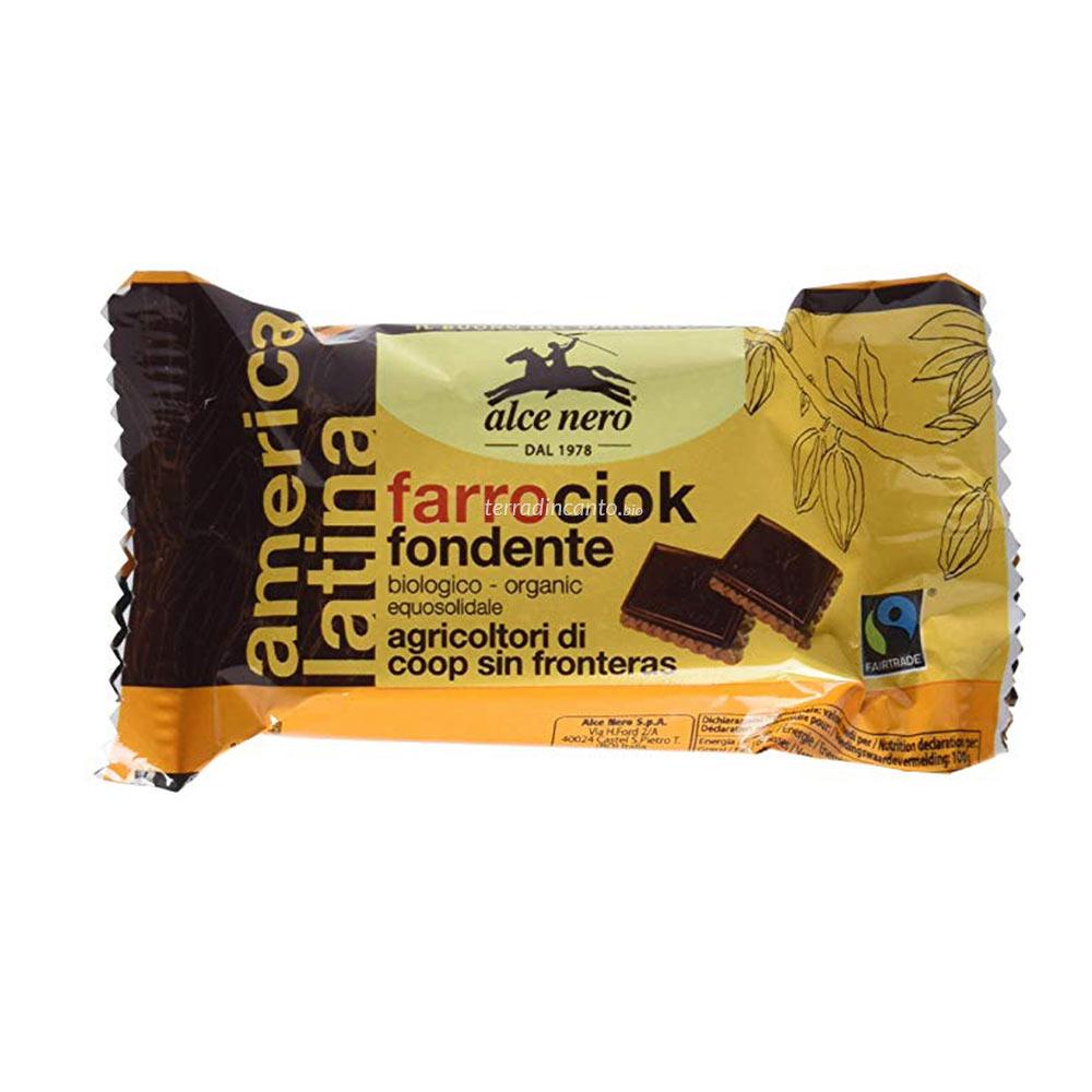 Farrociok fondente - espositore Alce nero fairtrade