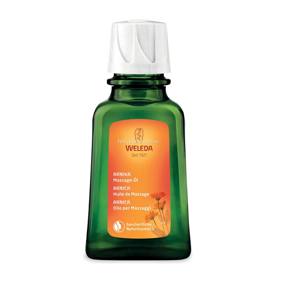 Olio per massaggi all'arnica Weleda