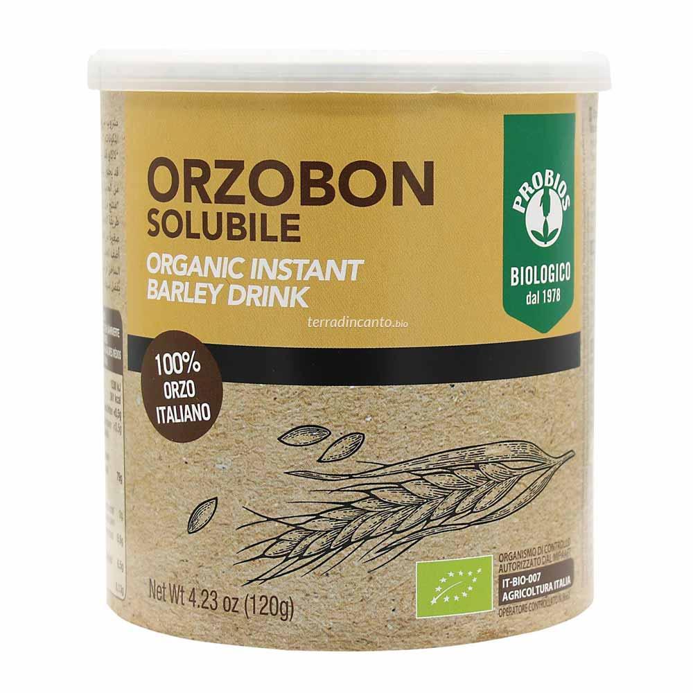 ORZOBON - preparato per bevanda istantanea di orzo  120g  PROBIOS