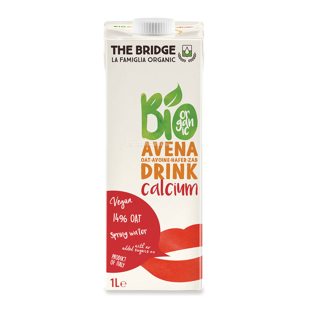 Bio avena drink con calcio The bridge