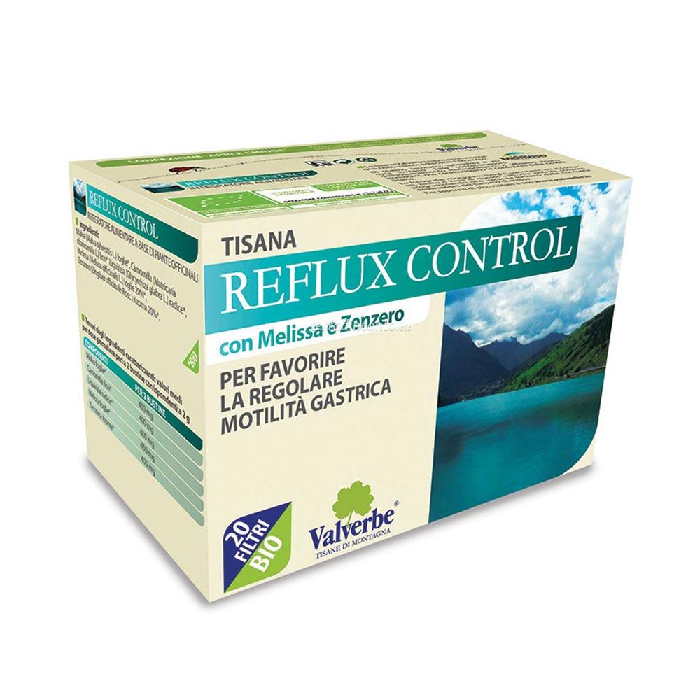 Reflux control Valverbe