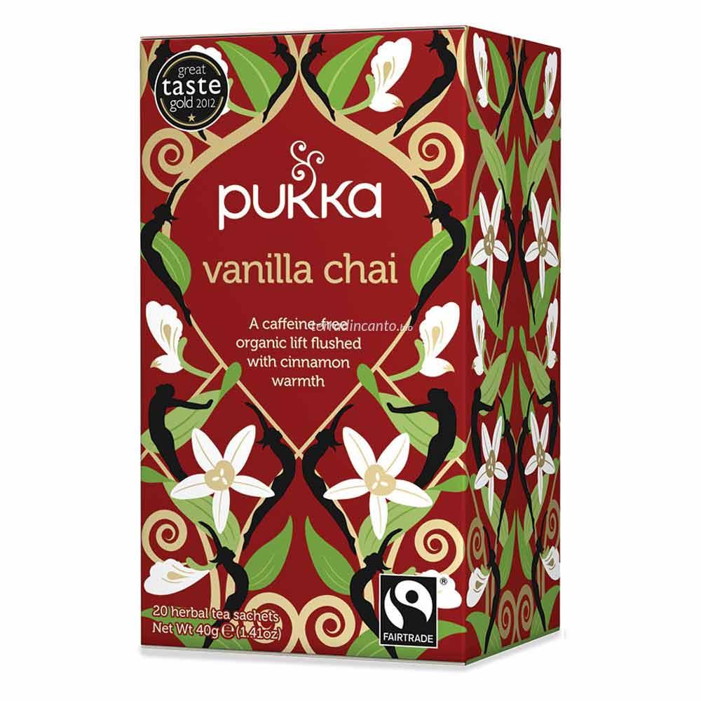 Vanilla chai Pukka