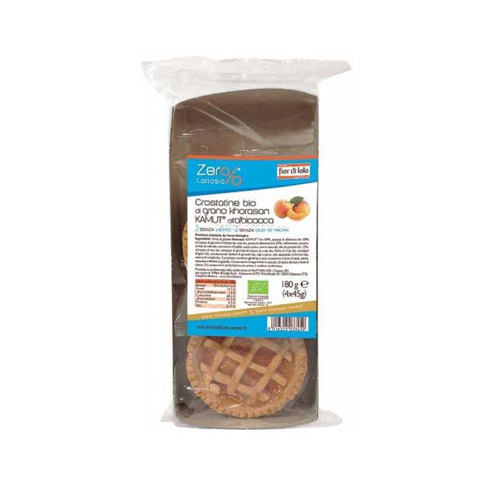 Crostatine di grano khorasan kamut® all'albicocca Zer%lattosio