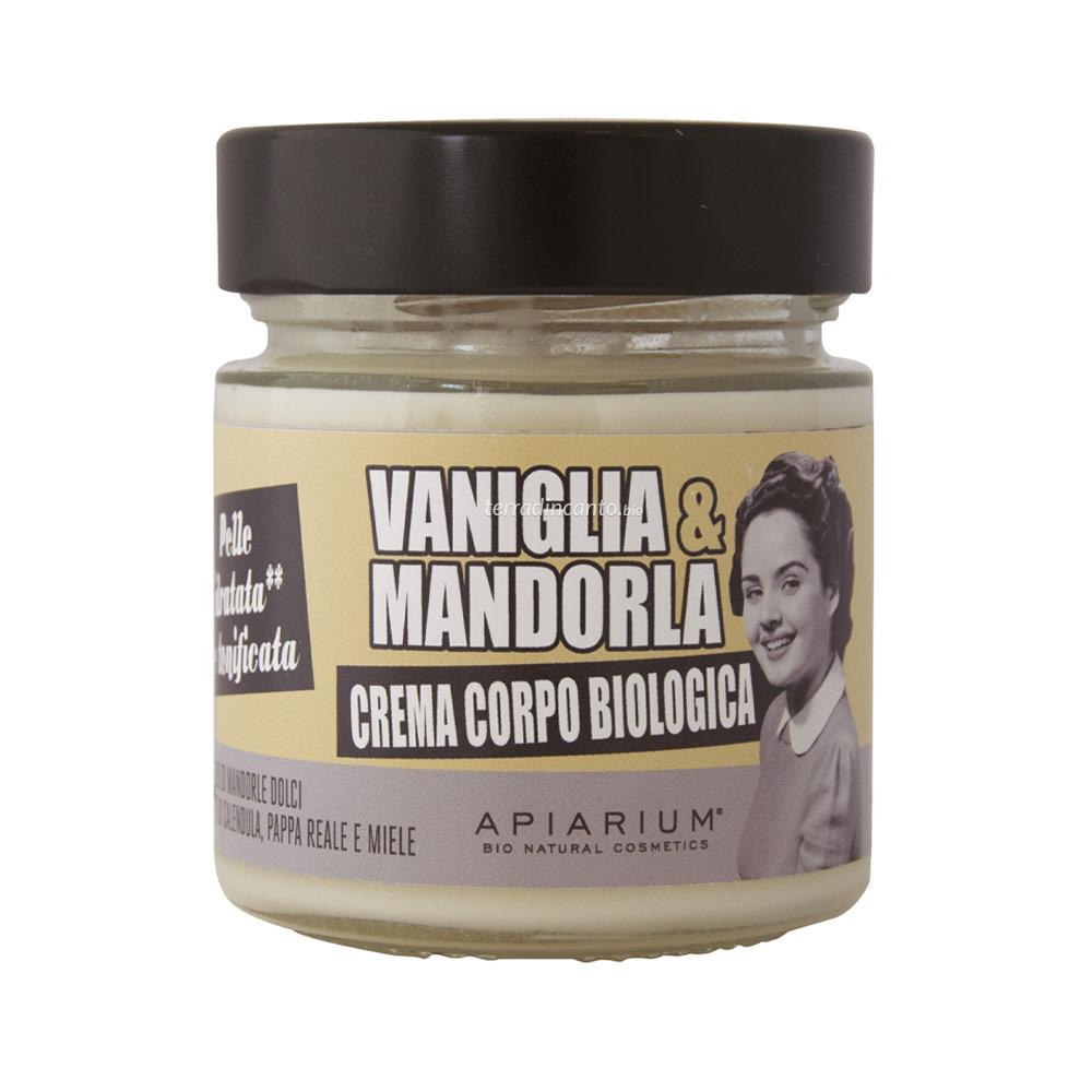 Crema corpo vaniglia e mandorla Apiarium