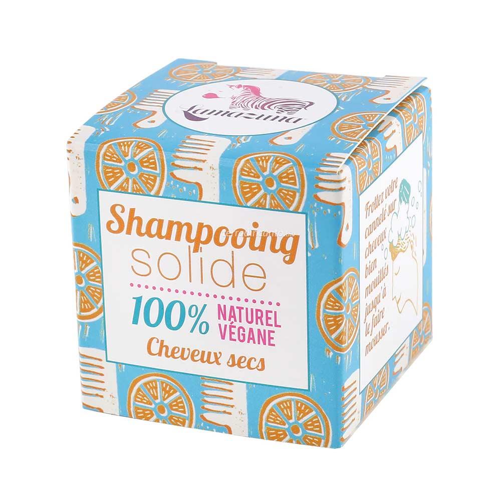 Shampoo solido per capelli secchi all'arancia Lamazuna