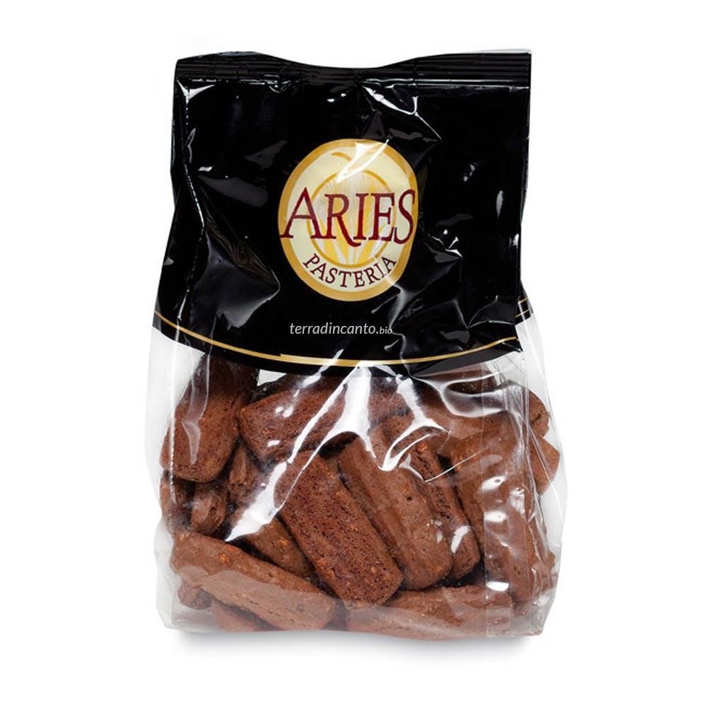 Biscotti di farro alle nocciole e carruba Aries