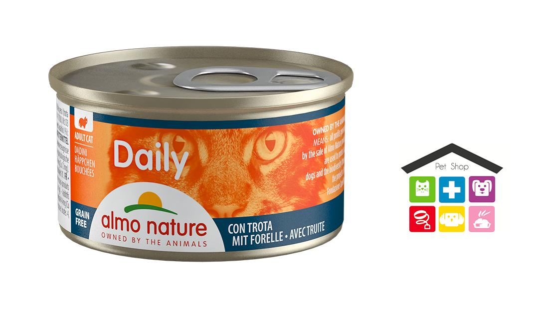 Almo Nature Daily Dadini Con Trota 0,85gr
