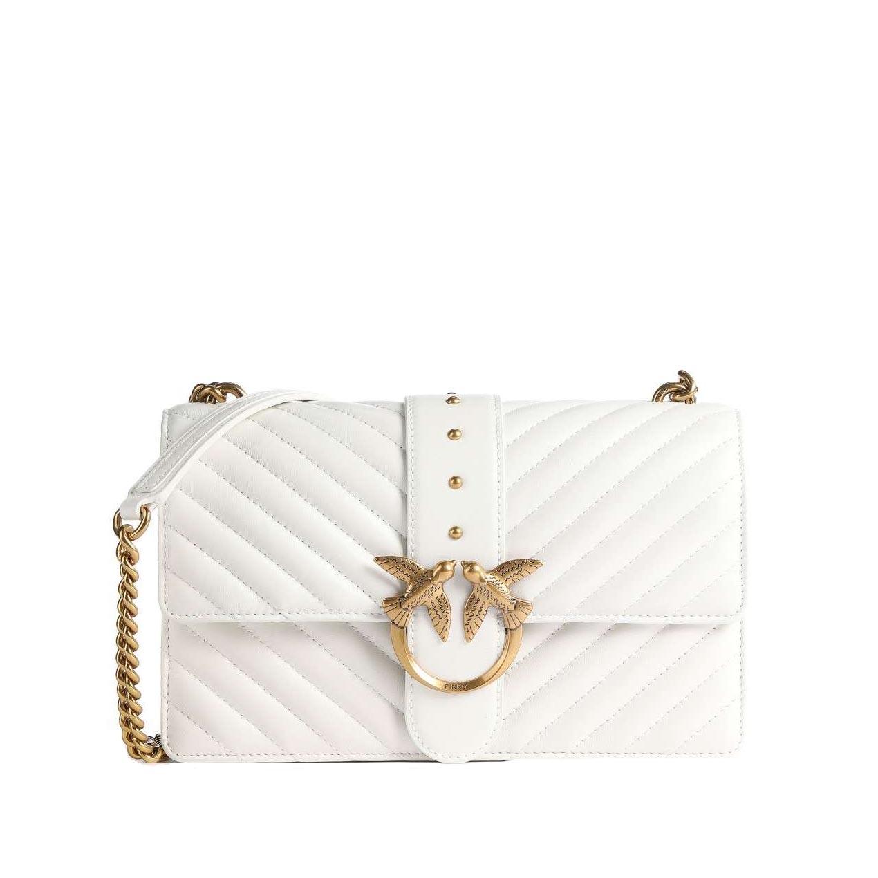 Love Classic Icon V Quilt white PINKO