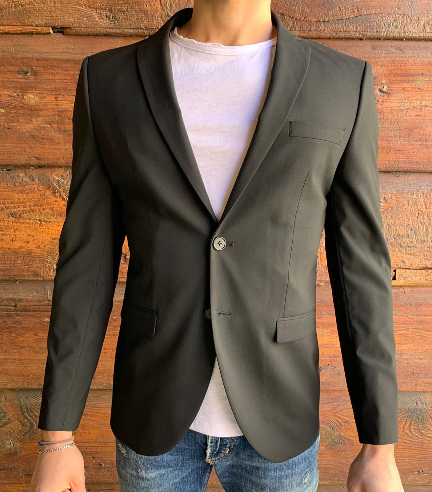 GIACCA SLIM FIT 2 BOTTONI SELECTED