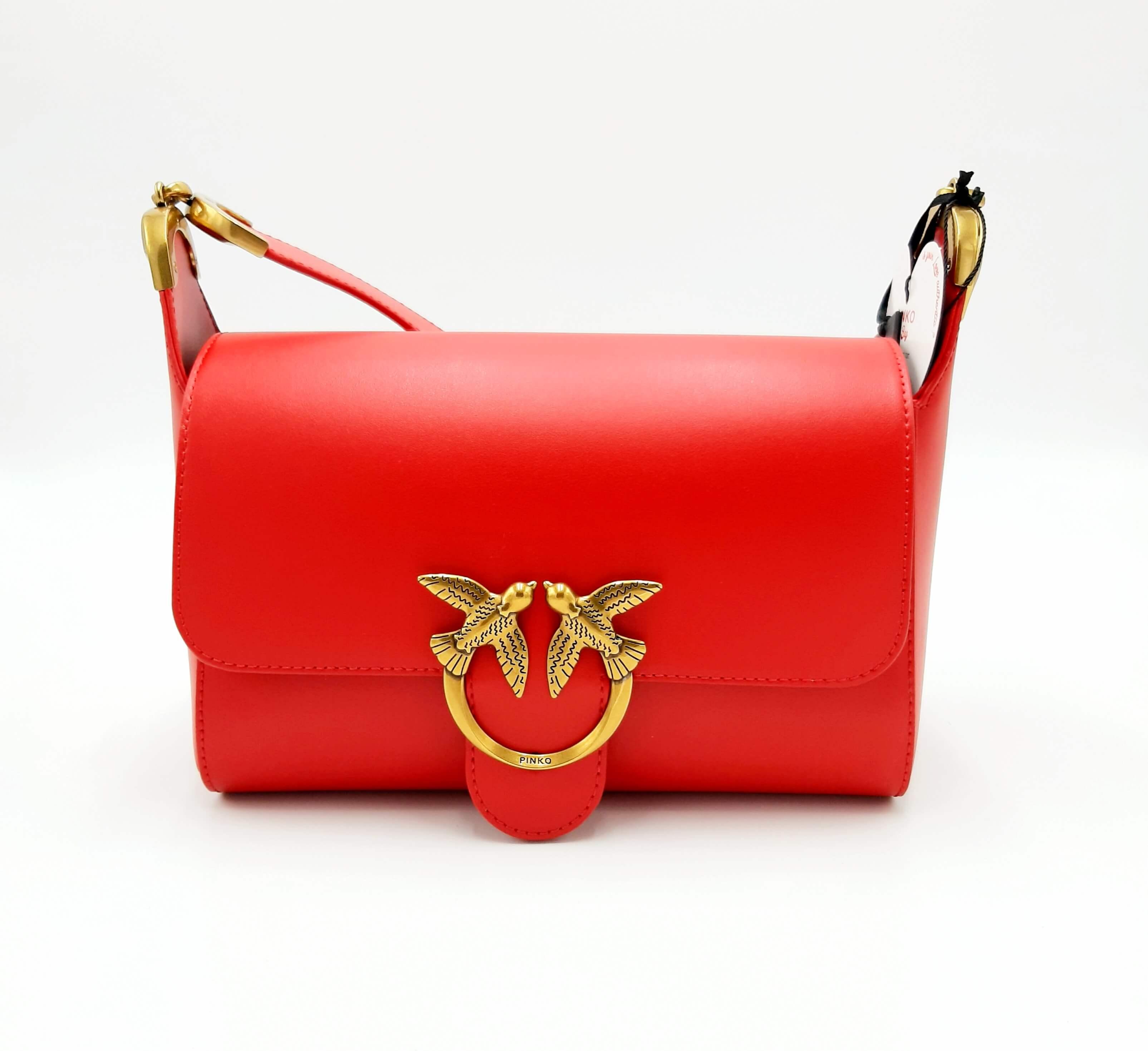 Borsa Love Shoulder bag Simply rossa Pinko