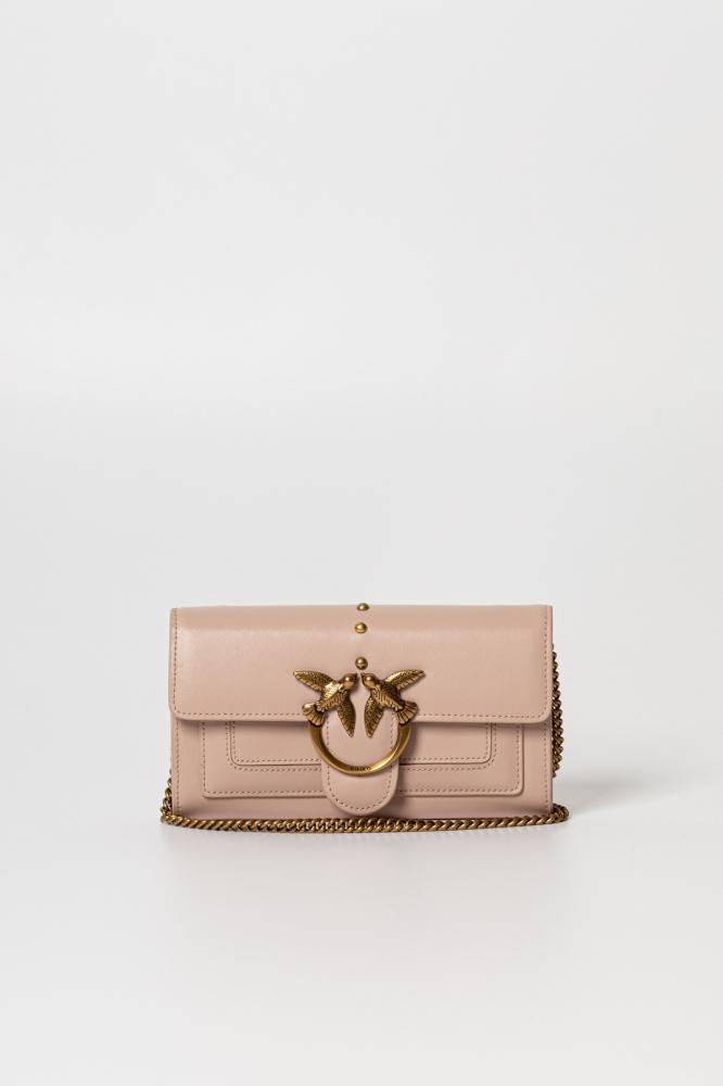 Portafoglio Love wallet simply 3 cipria Pinko