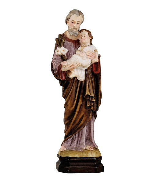 S. Giuseppe in resina cm. 15