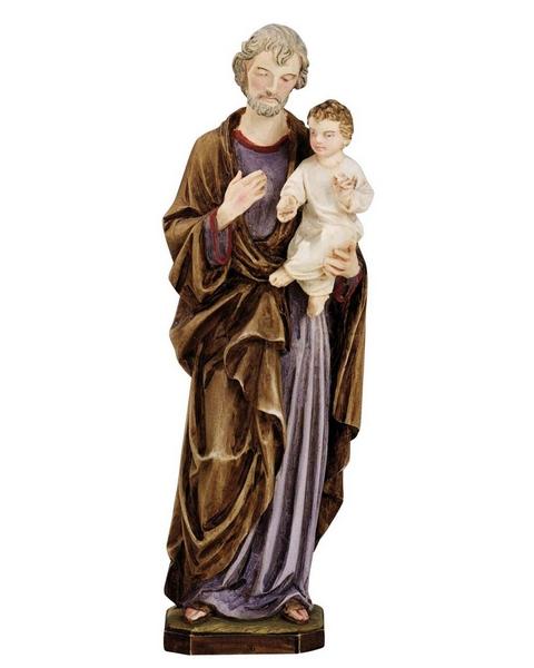 S. Giuseppe in resina cm. 22