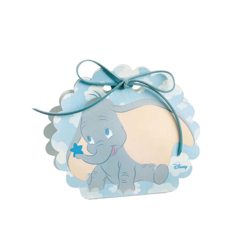 Scatola porta confetti Dumbo cielo